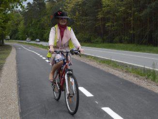 Stylově dorazila i bývalá starostka Ratíškovic, senátorka Anna Hubáčková