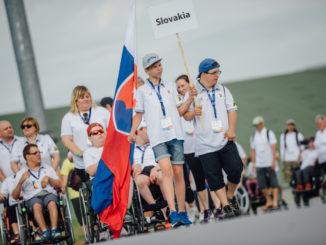Evropských her handicapované mládeže se účastní sportovci ze 17 zemí.