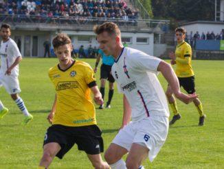 Momentka z utkání SK Líšeň - FC Odra Petřkovice