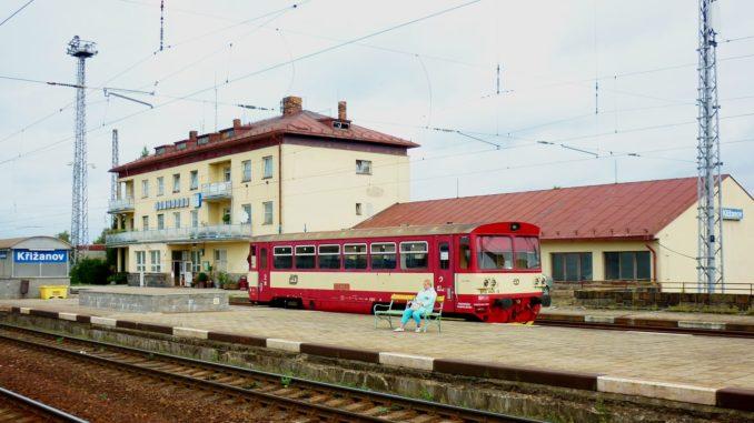 Křižanov nádraží železnice