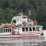 Na brněnské přehradě se plavil rekordní počet lidí, historická loď Moskva možná změní jméno