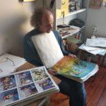 Vyšla kniha O Červenáčkovi. Malíř Pavel Čech v ní nevšedně rozšiřuje foglarovský svět o nové barvy a emoce