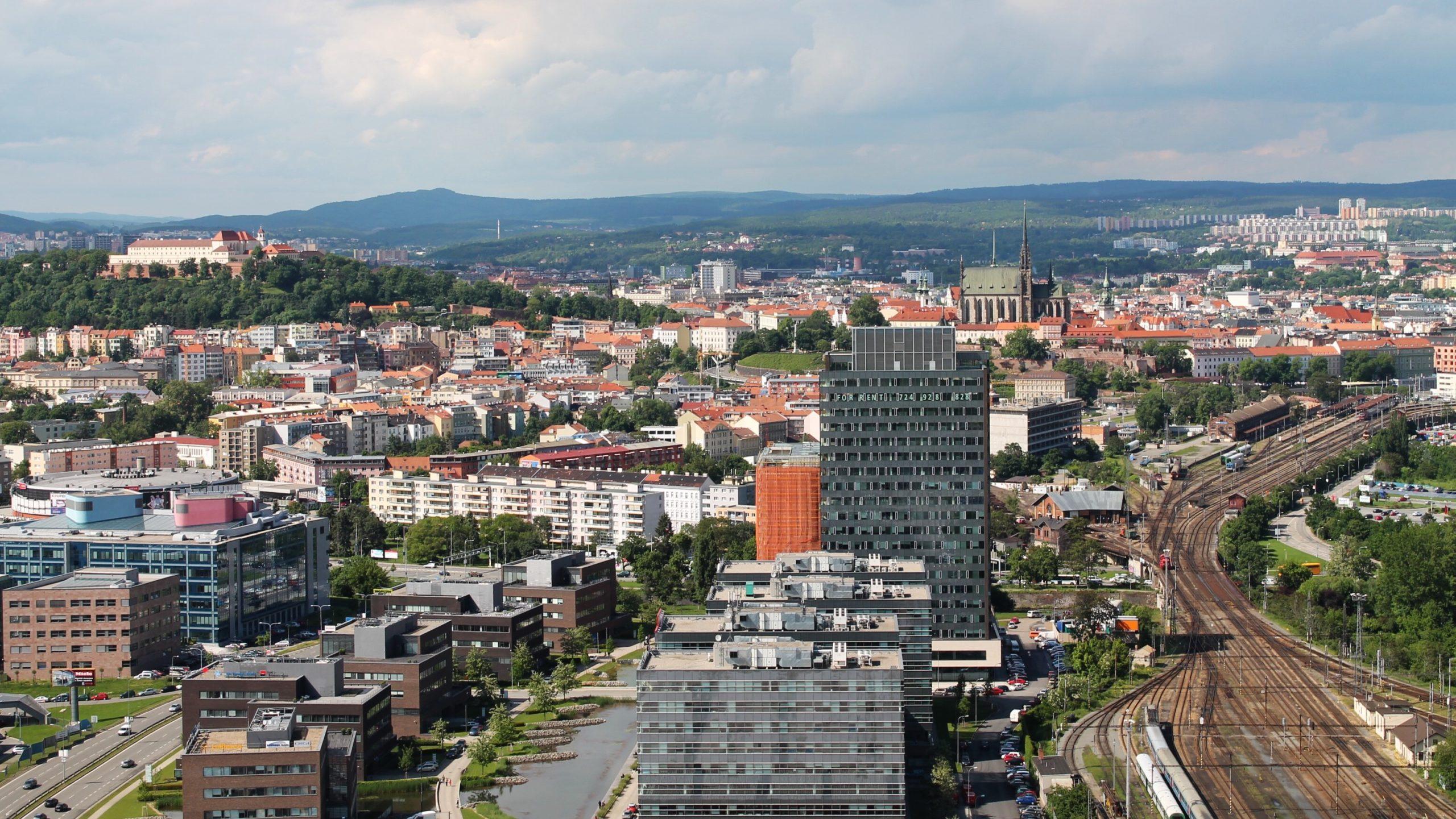 Brno pohled na město