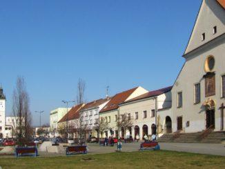 Kyjov náměstí