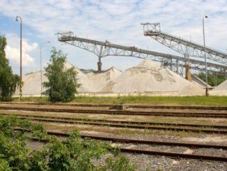 Těžba štěrkopísku Moravský písek Hodonínsko Bzenec-komplex