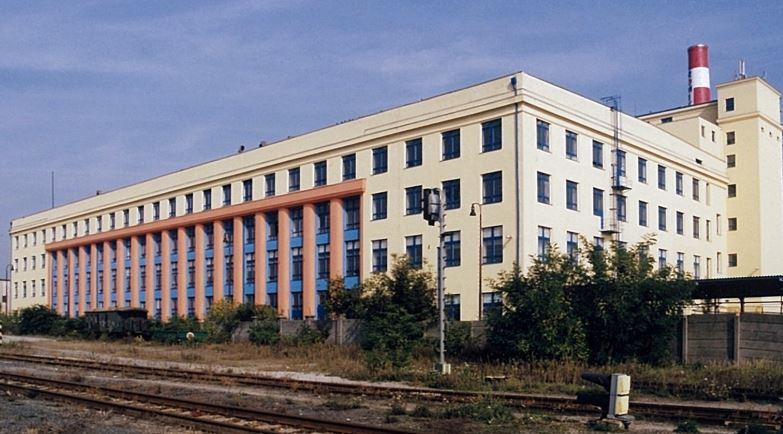 Cukerní rafinerie v Hrušovanech u Brna, 1916-1922; foto D. Černoušková