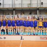Volejbalový pohár žen obhájily hráčky UP Olomouc. Ve finále porazily Olymp Praha