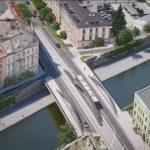 Olomouc pokračuje s výstavbou protipovodňové ochrany, část mostu na Masarykově třídě půjde k zemi