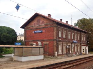 Prosenice nádraží