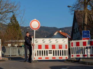 Zavřená hranice ČR Morava Rakousko