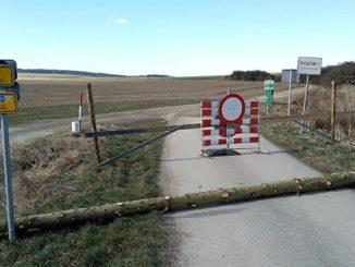 Zavřená moravsko-rakouská hranice