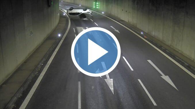 Nehoda Husovický tunel