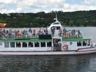 loď přehrada Morava