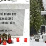Nenarozené a zesnulé děti mají pietní místo na Ústředním hřbitově v Brně