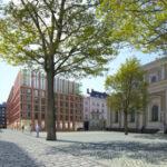 Za katedrálou v centru Ostravy vznikne parkovací dům. Město vybralo vítězný projekt