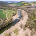 Podél Bečvy vznikají tůně, rozšířené koryto pomůže přírodě i proti povodním