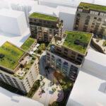 """Brněnský """"Bronx"""" se mění. Projekt Pekárenský dvůr nabídne 250 bytů a služby luxusního hotelu"""