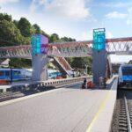 V září startuje rekonstrukce železniční stanice v Adamově. Vznikne nový nadchod