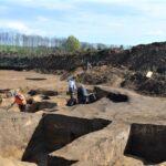 Zaniklé keltské osady, neznámá středověká ves. Trasa budoucího plynovodu vydává tajemství
