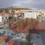 OBRAZEM: Mendlovo náměstí v Brně se dočká nové podoby. Hotovo má být za rok